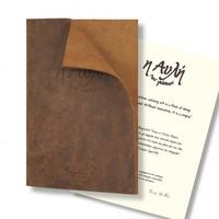Папка меню из мягкой кожи