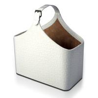 Белая корзина