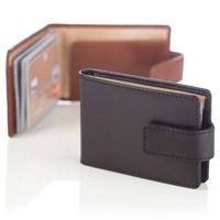 Кожаный футляр для кредиток