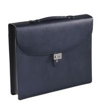 Синяя папка портфель